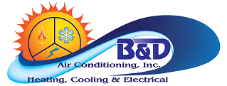 B&D Air Conditioning Logo